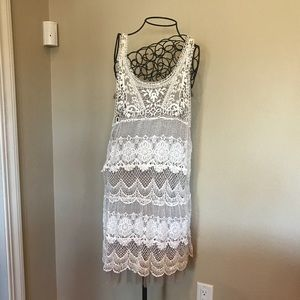 Dresses & Skirts - 2 piece lace dress in Large